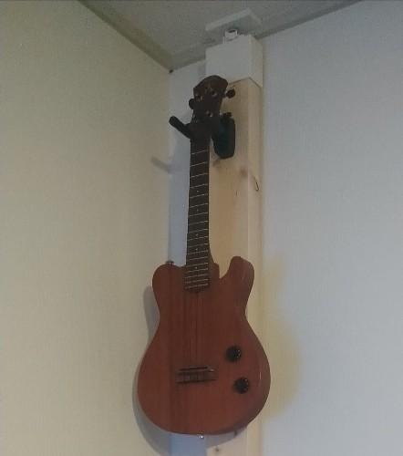 ukuleleハンガー