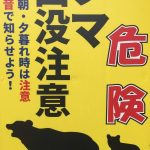 熊!ツキノワグマ!出没~小松市に出た画像有り!熊よけの鈴は効果ある?