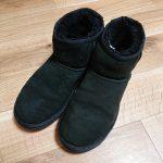 雪の日が続く中、ブーツや長靴の準備と履かない靴の整理をした!